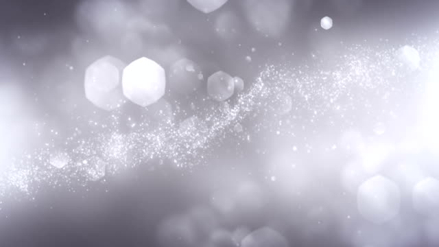 4k Abstract Particles (Silver/Gray) - Background Animation - Loopable video