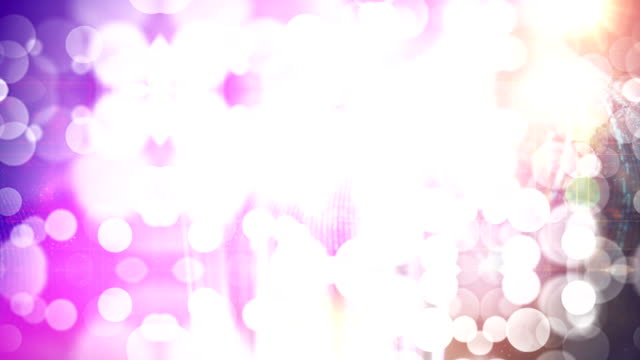 Animação de fundo 4 k abstrata partículas - vídeo