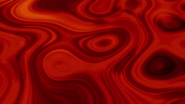 4k Abstract Red and tones Magma stock video loopable