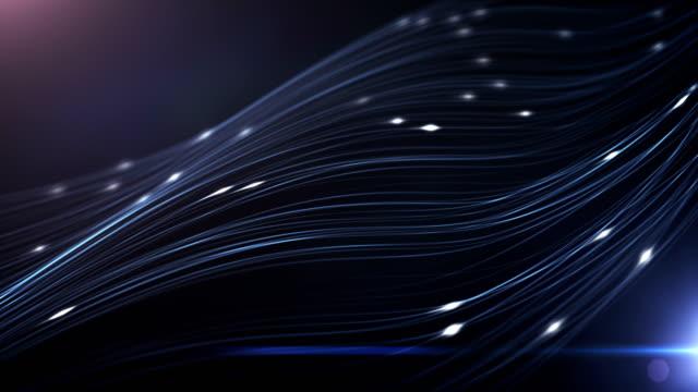 stockvideo's en b-roll-footage met 4 k abstracte technische achtergrond (blauw) - lus - uitwisselen