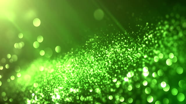 4k Beautiful Bokeh and Light Beams (Green) - Loop Highly detailed background animation, seamlessly loopable. Perfectly usable for a wide range of topics. environmental conservation stock videos & royalty-free footage
