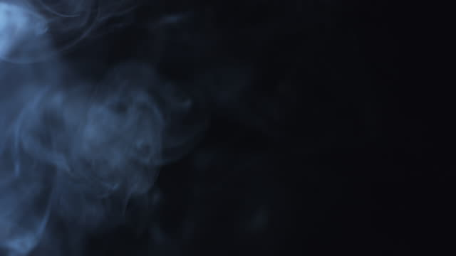 4k Black Background of Particles, Dust and Smoke Moving video