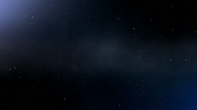 4k blue abstract space background - space video stock e b–roll