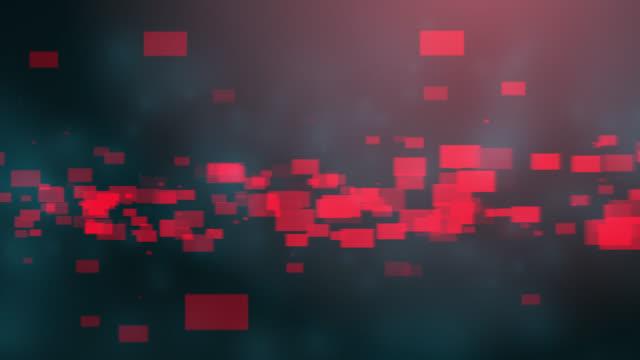4k blå röd abstrakt teknisk bakgrund - röd bildbanksvideor och videomaterial från bakom kulisserna