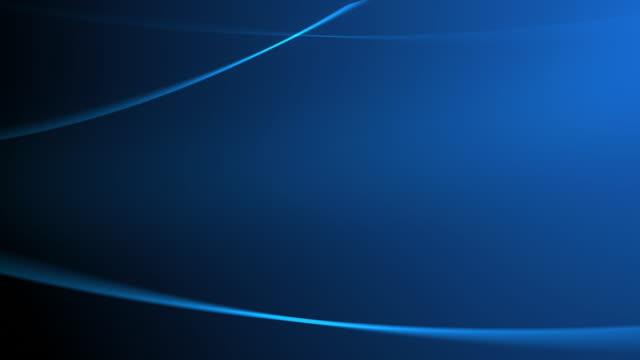 4 k pennellate di luce blu sfondo senza giunte loop animazione - blue video stock e b–roll