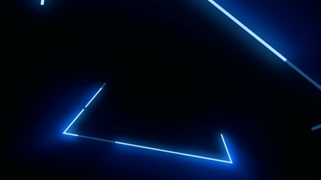4k blue triangle abstract concert background