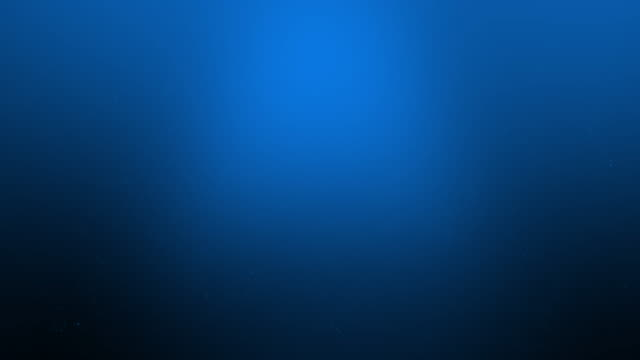 4k Blue Underwater with Sun Rays and Seaweeds loopable stock video