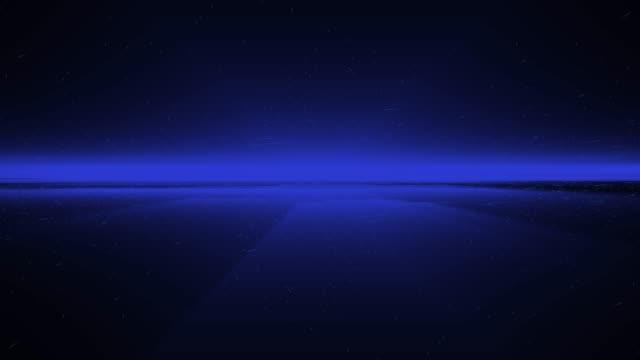 vídeos y material grabado en eventos de stock de 4k blue wave animación de fondo sin costuras loop - blue abstract background