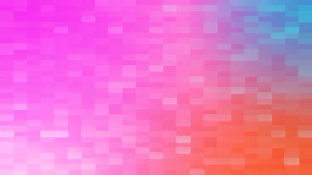 4k Colorful Grid Mosaic Background video