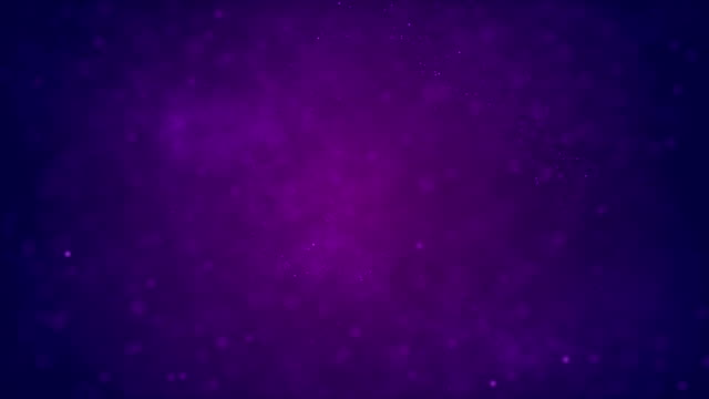 vidéos et rushes de 4k defocused abstract particles background (purple) - loop stock vidéo - violet