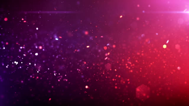 4k Defocused Particles Background (Pink / Purple) - Loop Highly detailed particles background, seamlessly loopable. pink color stock videos & royalty-free footage