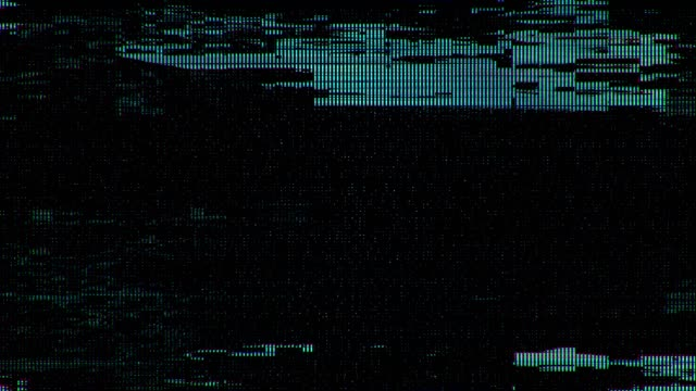 4k Digital Scanlines Glitch Noise