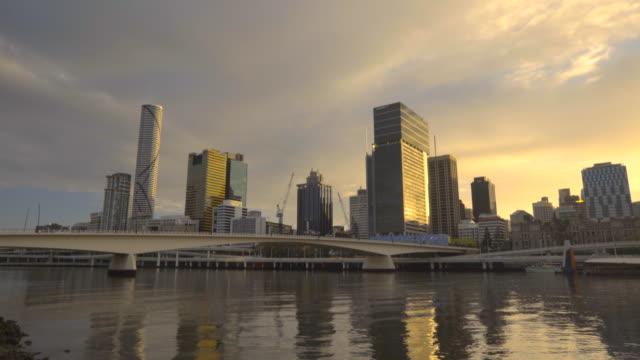 4k Early Morning River Timelapse video