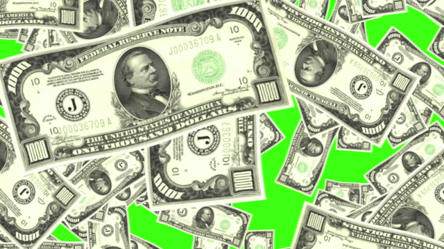 4k Falling 1000 Dollars On Green Screen Animation Seamless Loop. Perfect for websites, motion graphics, video titles etc. us paper currency stock videos & royalty-free footage