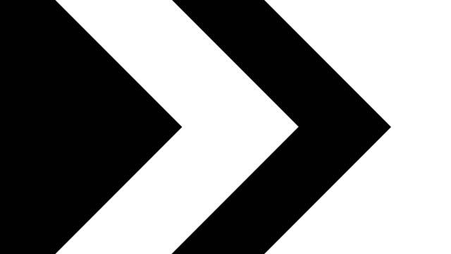 4k formation chroma key geometry background to change picture in your clips (for luma key and masking) - arrow filmów i materiałów b-roll