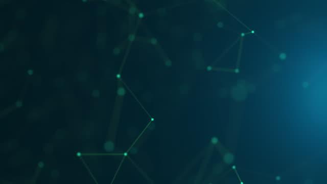 4k Futuristic Network: Artificial Intelligence, Global Communication