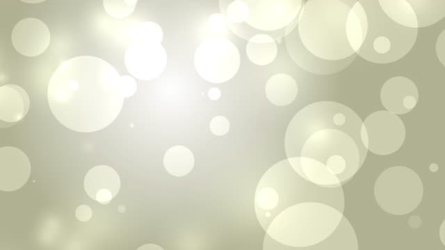 4k: Gold Abstract Lights bokeh background. Seamless Loop video