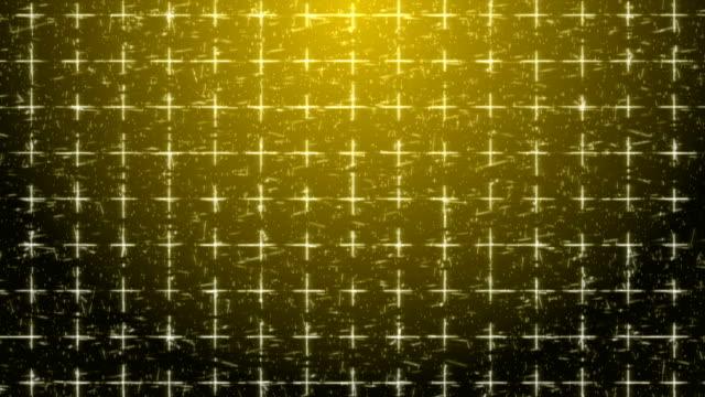4k gold abstrapsen geometrischen hintergrund mit pluszeichen - plus stock-videos und b-roll-filmmaterial