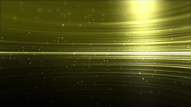 4k Gold Streaks Light Abstract Animation Background