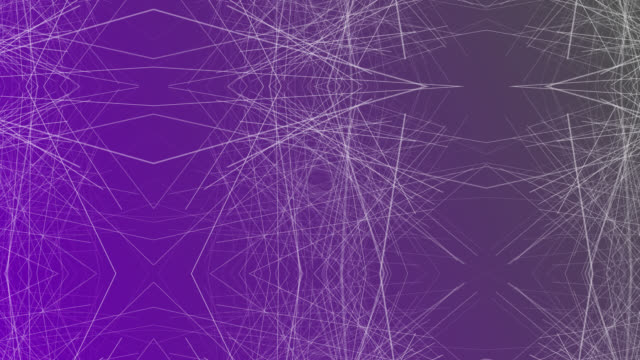 4k Graphic abstract connection network line purple background communication