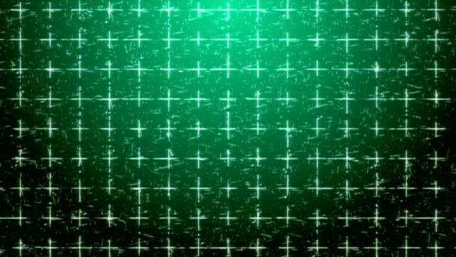 4k grüner abstrakter geometrischer hintergrund mit pluszeichen - plus stock-videos und b-roll-filmmaterial