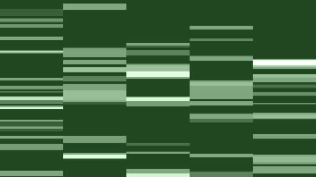 4k Green Grid Mosaic Background