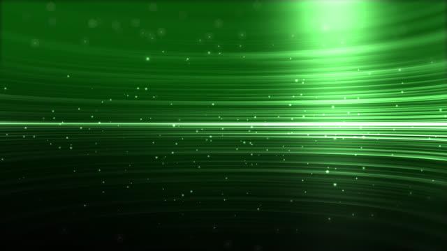 4k Green Streaks Light Abstract Animation Background