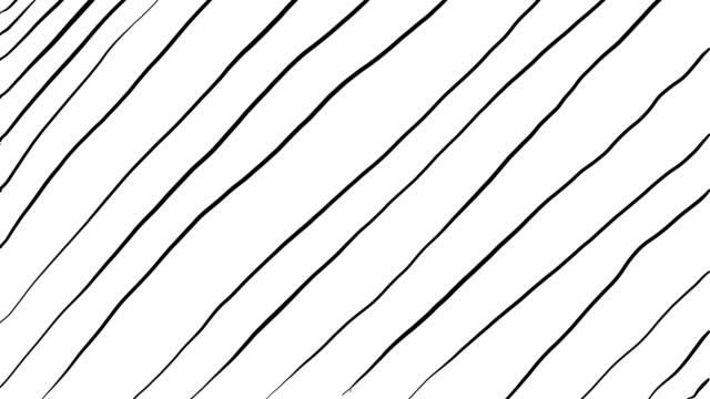 stockvideo's en b-roll-footage met 4k hand tekening getekende cartoon potlood lijnen op een gekleurde achtergrond in stop motion stijl looped achtergrond video - doodles