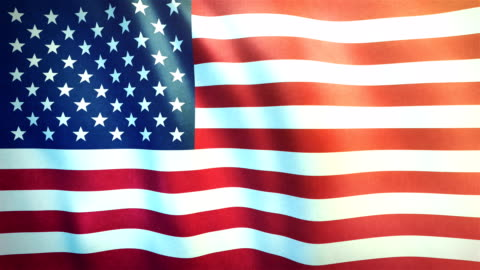 4k Highly Detailed Flag Of The United States Of America - Loopable Highly detailed animation of the US flag. Seamless loop. flag stock videos & royalty-free footage