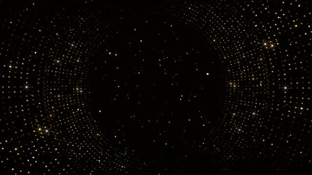 vídeos de stock, filmes e b-roll de fluxo de partículas altamente detalhado de 4k - loop - resolução 4k