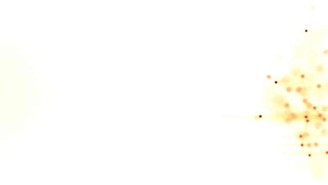 4k 高度詳細的粒子流 - golden ratio 個影片檔及 b 捲影像