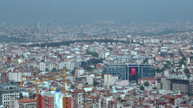 4k Istanbul Cityscape -  Aerial View video