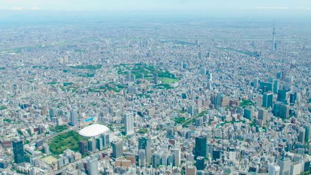 4k日本の空撮in東京 aerial,tokyo,japan - 東京点の映像素材/bロール