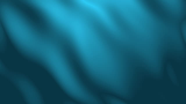 4k Light Blue Fabric Wave Animation Background Seamless Loop. video