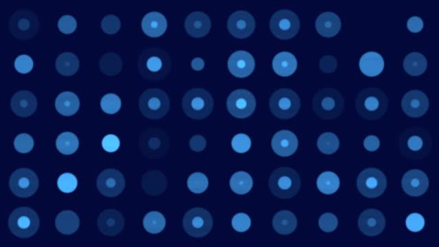 4k Light Circles - Infinite Loop
