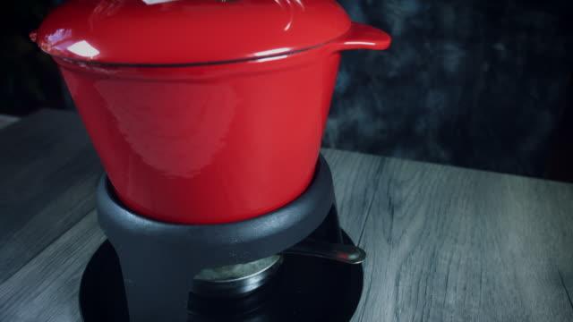 4k Mixed Cheese Fondue Tools Set video