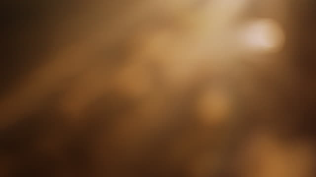 4k Orange bokeh abstract light background