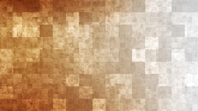 4k Orange Grid Mosaic Background