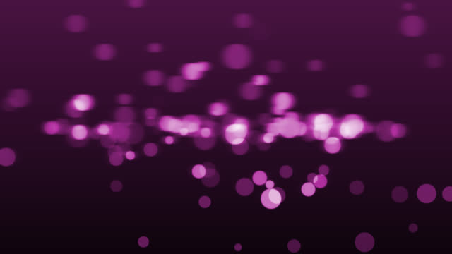 4k ピンク抽象光ボケの背景 - ピンク色点の映像素材/bロール