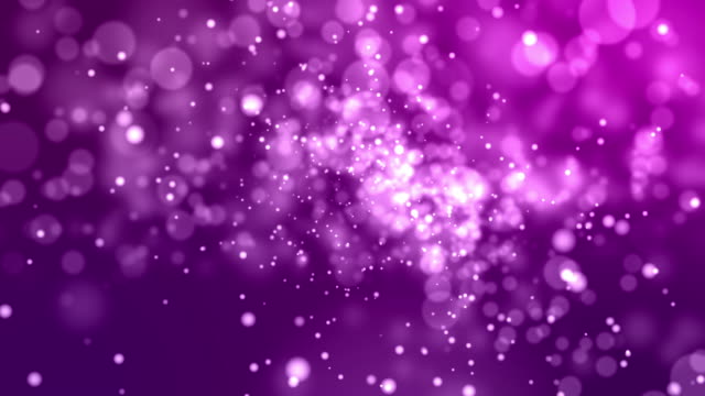 4k Pink Abstract of Bright and sparkling bokeh background video