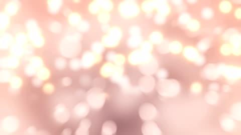 4 k pembe bokeh arka ışık plan - işıldama stok videoları ve detay görüntü çekimi
