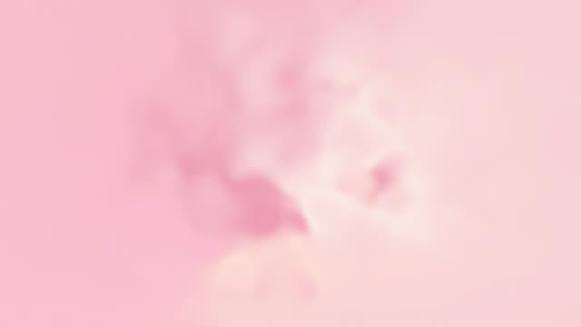 4kピンクネオングラデーション, 抽象的なぼやけた背景を移動 - ピンク色点の映像素材/bロール