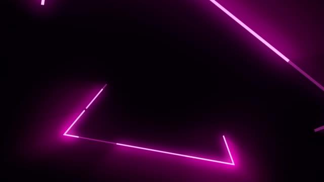 vídeos y material grabado en eventos de stock de 4 fondo de resumen concierto de triángulo rosa k - lunares