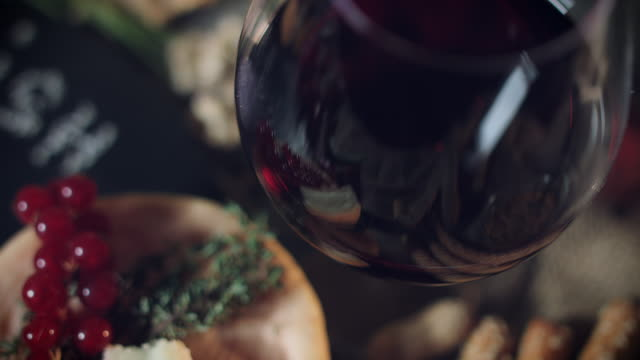 4k Platter with Irish and French Soft Cheese and Wine video