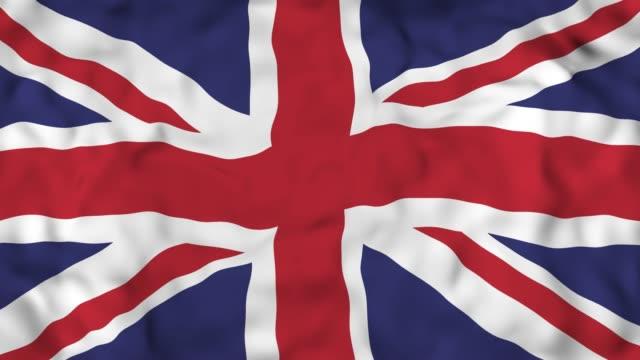 4k Realistic 3D detailed slow motion United Kingdom flag , flying United Kingdom Flag Animated Background, Waving United Kingdom Flag Background, 4k Render, 3D animation uk map stock videos & royalty-free footage