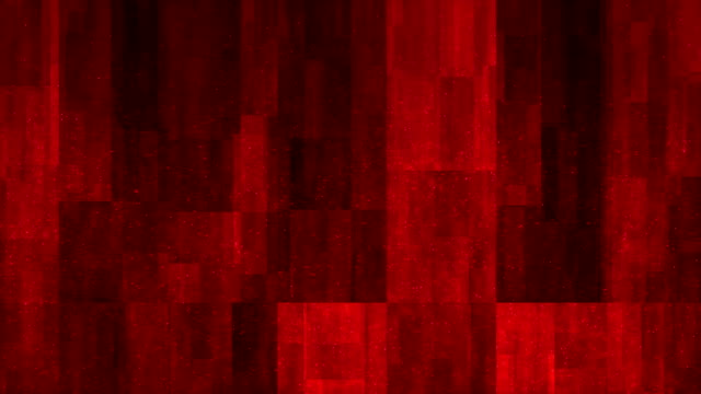 vídeos de stock e filmes b-roll de 4k red abstract blocks background (loopable) - stock video - vr red background