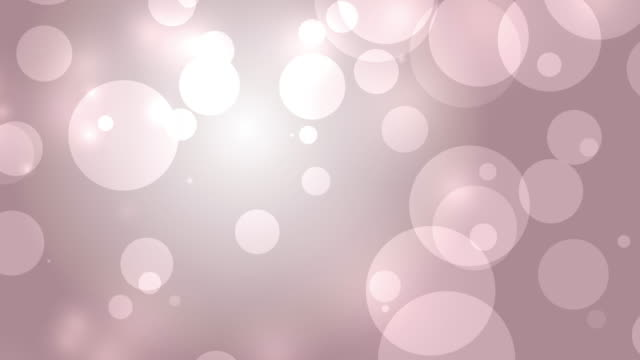 4k: Red Pink Abstract Lights bokeh background. Seamless Loop video