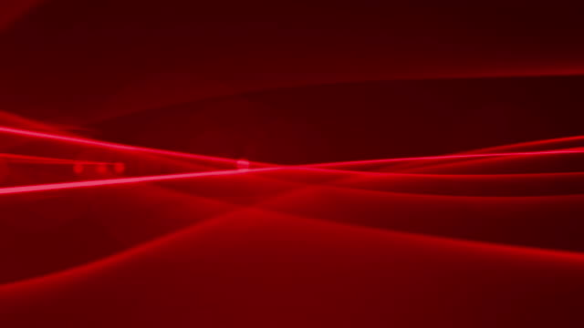 4k Red Streaks Light Abstract Animation Background Seamless Loop. video