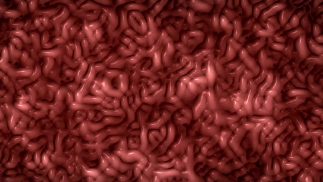 stockvideo's en b-roll-footage met 4k resolutie. abstract bewegende micro-organismen bacteriële cellulaire schimmel biologische achtergrond, kruipende wormen of menselijk brein ontwerp. - worm