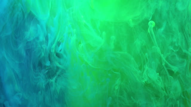 4k Slow motion of Coloured Smoke.
